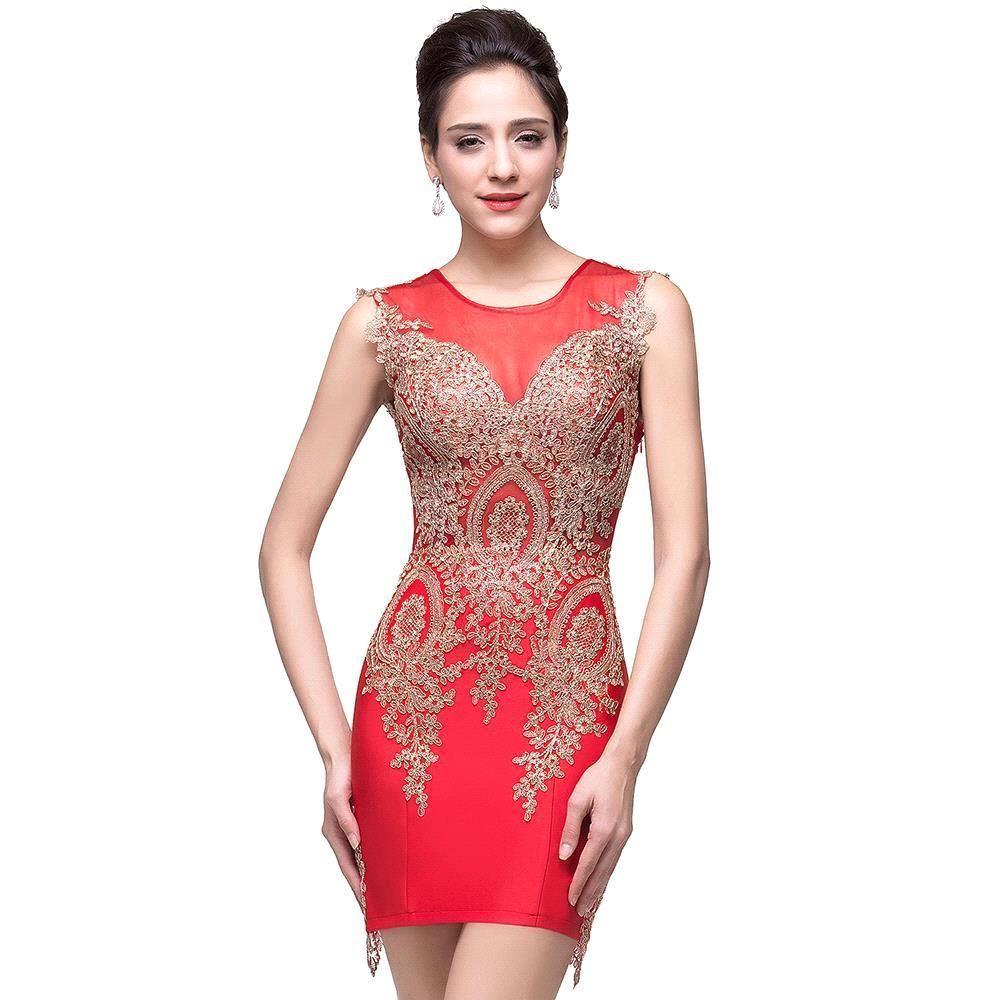 Magnífico Vestidos De Fiesta Del Cordón Atractivo Ideas Ornamento ...