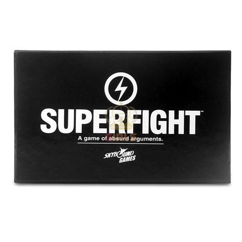 SUPERFIGHT 500-Core Core Deck Ensemble de jeu de cartes Superfight Combat en ligne de super jeu de cartes Super Fight