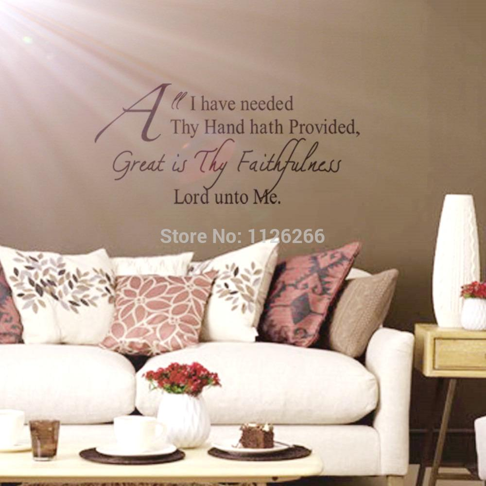 christian wall decals quotes great is thy faithfulness lord unto 20