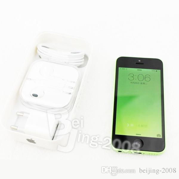 Original Apple iPhone 5C 16GB Dual Core IOS 8 4.0 inch IPS 8MP 1080P GPS WIFI 3G WCDMA Smartphone Refurbished Unlocked Phone