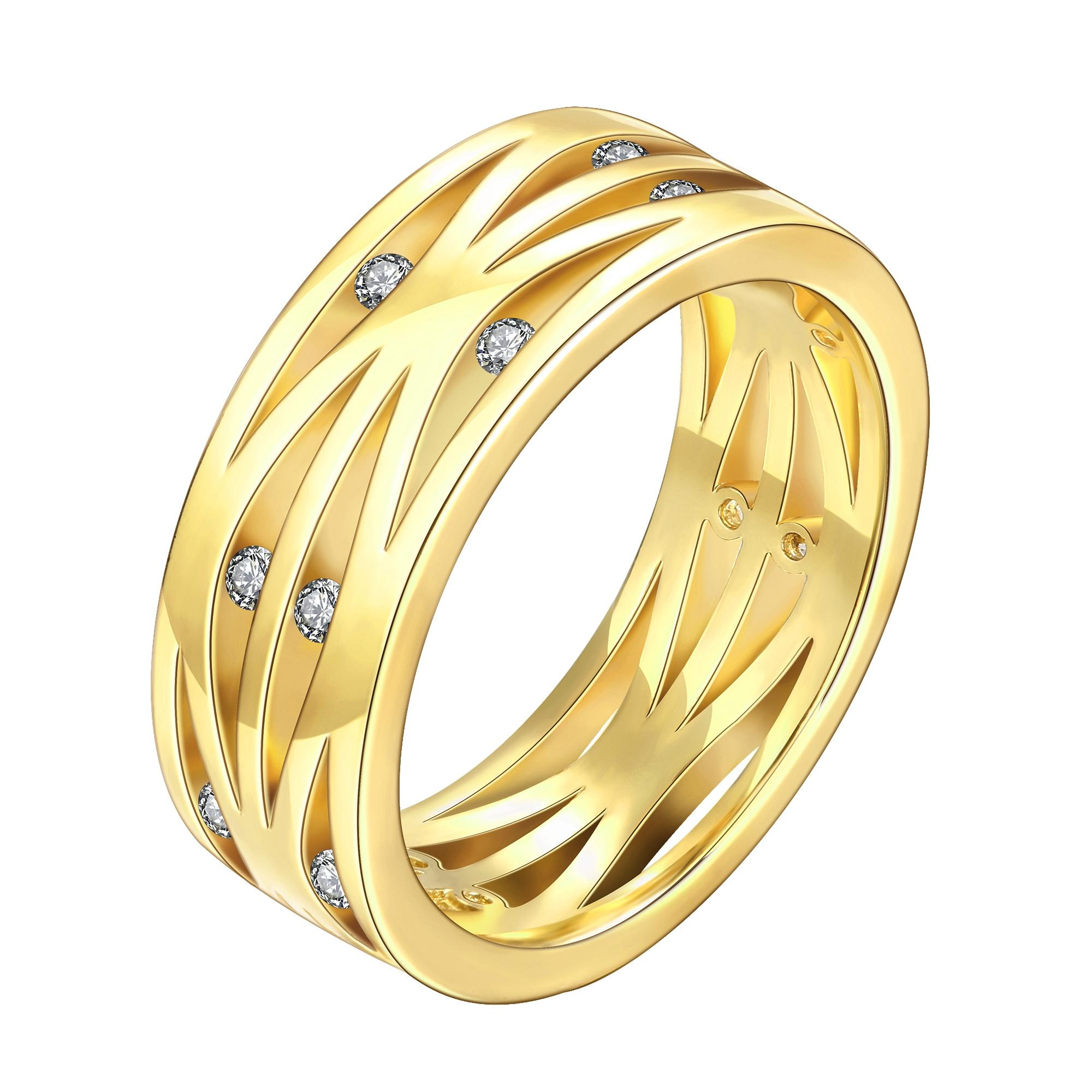 bands white collections diamond dancing ring gold