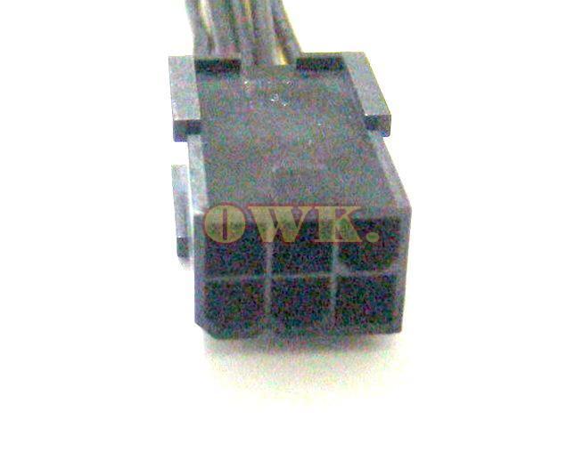 OWK Hurtownie 100% Nowy PCie 6 Pin do 8 Pin Adapter Adapter Cable PCI E 5 sztuk / partia Darmowa Wysyłka 6pin do 8pin