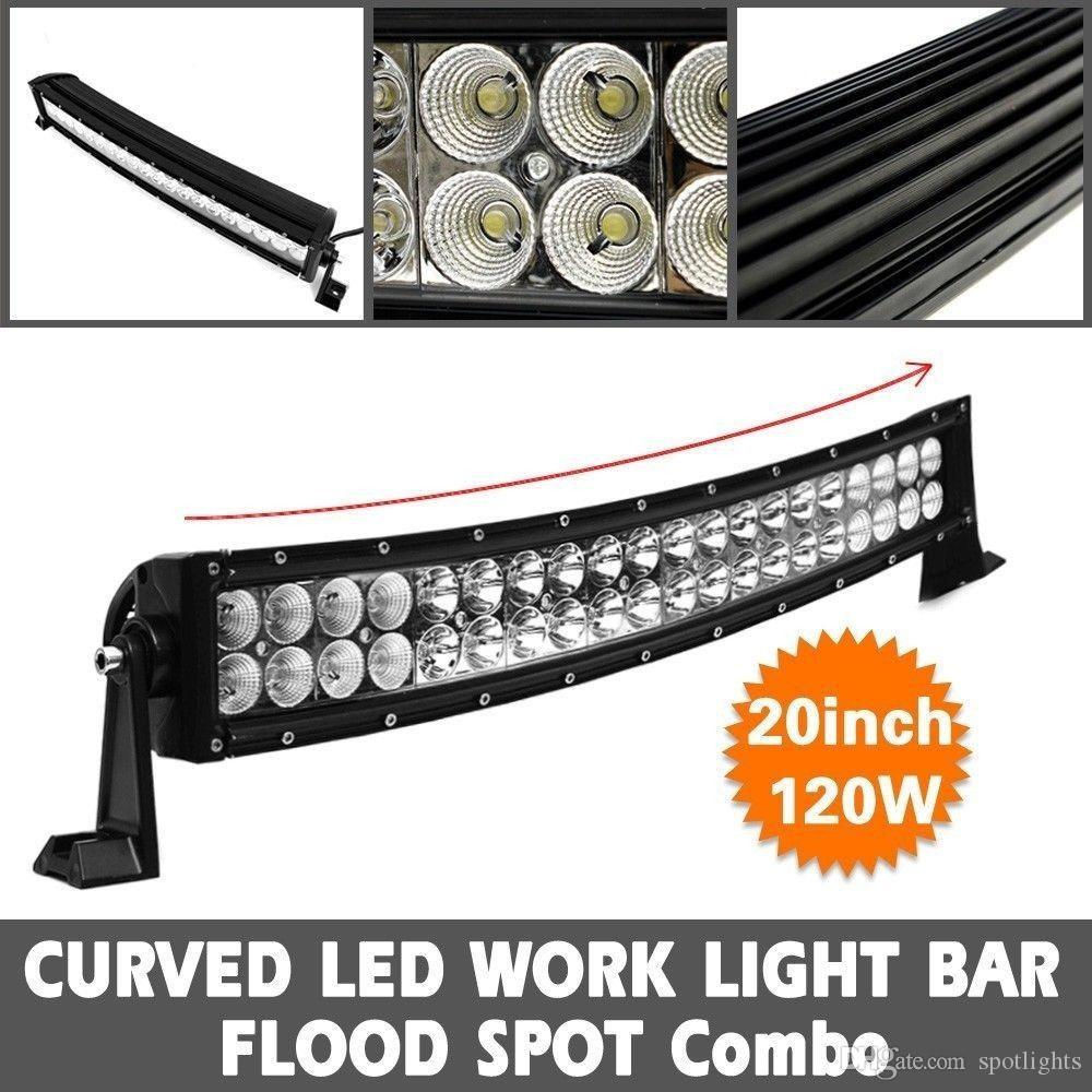 High Power 200w 20 Inch Jeep Accessories Led Light Bar For: 20 Inch Curved Off Road LED Light Bar CREE 120W BAR ATV
