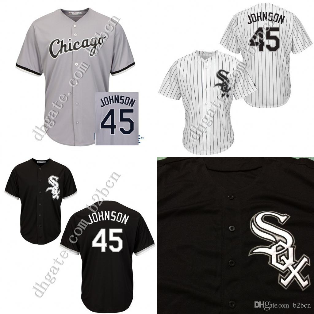newest 54dc3 ea5fa chicago white sox 45 michael jordan black kids jersey