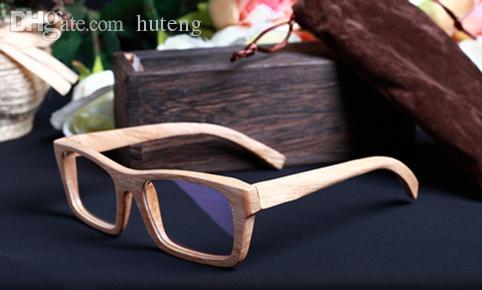 2018 wholesale high quality handmade wood frame glasses eye prescription men glasses women eyeglasses 2015 from huteng 5596 dhgatecom - Wood Frames Glasses