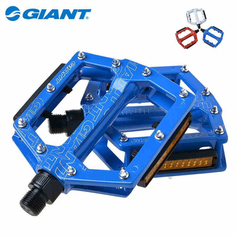 dd828d88eb1 GIANT Original Ball Bearings Cycling Road Bike MTB Pedals Aluminum Platform  Pedals Core 9/16
