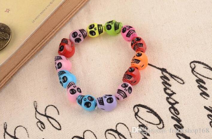Nova pulseira de pedra frisada fios jóias colorfull pedra
