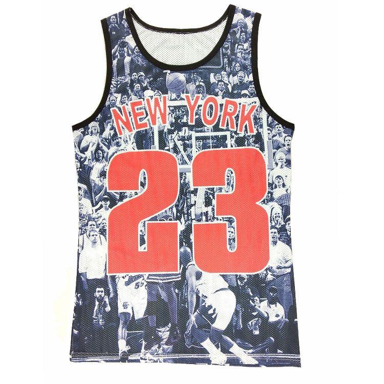 New Fashion Number 23 Basketball Shirt Men Tank Tops 3d Sleeveless T