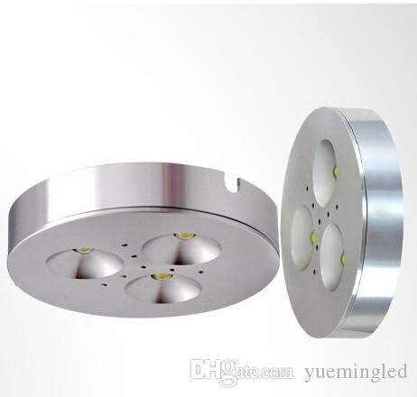 Super bright 6w dimmable led puck light 3x2w cree led puck lamp super bright 6w dimmable led puck light 3x2w cree led puck lamp 500lm led cabinet bulb lamp ac110vac220vac230v outdoor down lighting downlight cover from mozeypictures Image collections