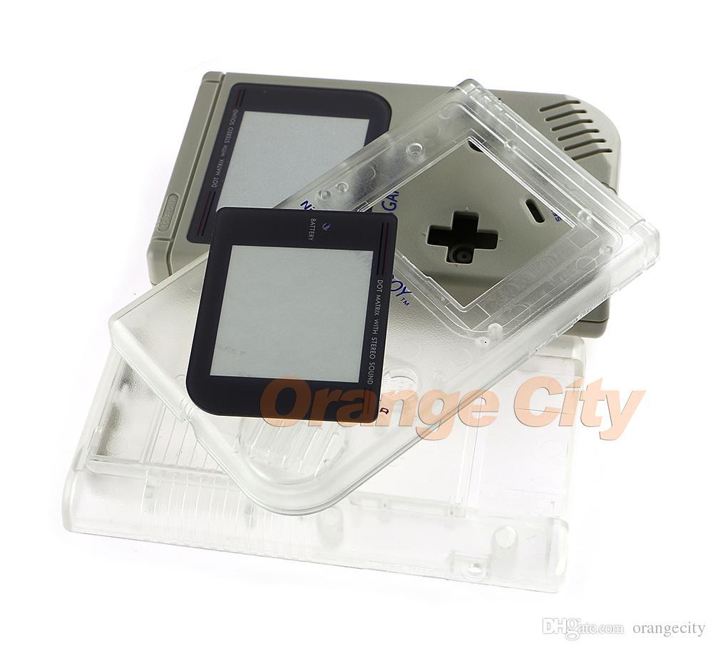 Nuevo estuche de cubierta de carcasa completamente nuevo con botones para Game Boy Classic GB Consola DMG System replacement parts