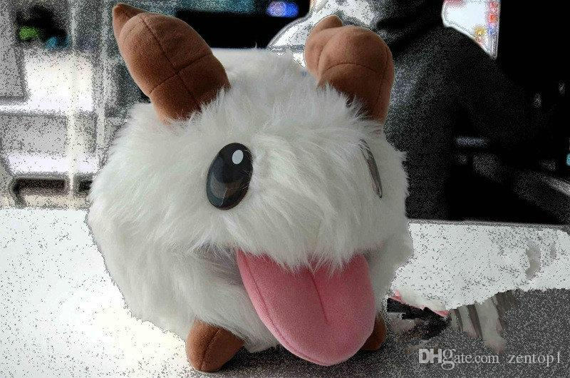 2018 Super Cute Poro Plush Toy League Of Legends Poro Doll ...