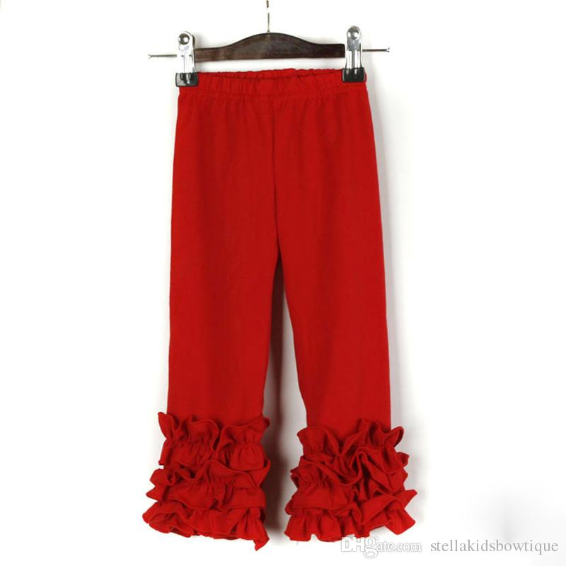 034f731c28840 Fashion Girls Dress Cotton Child Trousers New Style Autumn Winter Icing  Solid Pants Hot Sales Ruffled Kids Full Pants Yellow Boys Pants Yellow Pants  For ...
