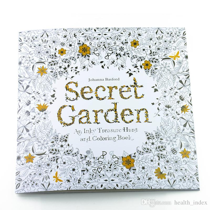 Hot Sale Coloring Book For Kids Secret Garden Alices Dream Enchanted Forest Pages Drawing Books Painting Sketch