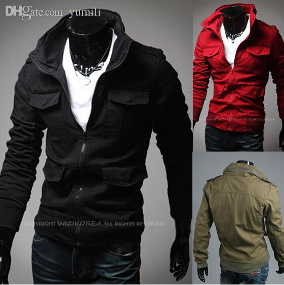 Fall Hot Selling Wholesale Men Cheap Casual Jackets Mandarin ...