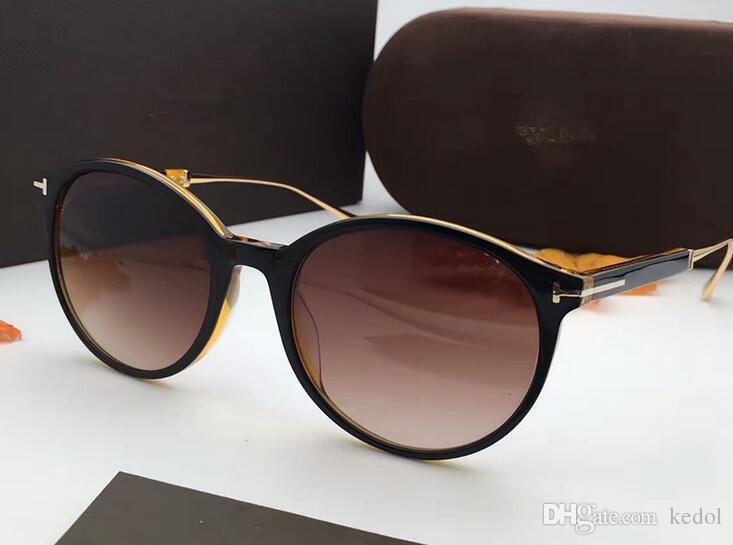 ff46776ff29c1 Großhandel Tf5485 Brillen Hohe Qualität Mode Polarisierte Sonnenbrille  Männer Marke Designer Tf Cat Eye Sonnenbrille Für Frauen Uv400 Oculos De  Sol Feminino ...