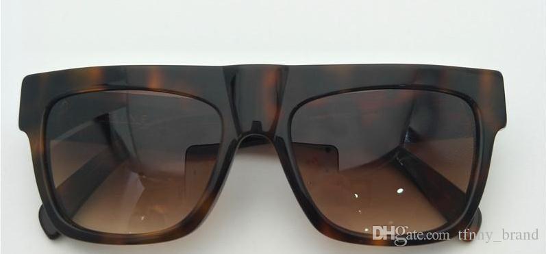 Новые cl41066 популярные солнцезащитные очки высшего качества кадр 41066 стиль мужчины женщины солнцезащитные очки CE41066 уф-защитные очки с оригинальной коробке