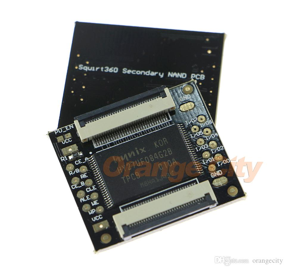 Original New DUAL NAND PCB 512 Mbyte 512MB PCB For Xbox360 512MB Dual NAND Squirt360 Secondary NAND PCB