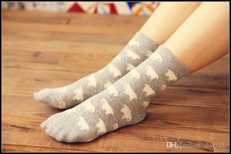 Prettybaby Cartoon Fashion Socks Donne adulte cotone creativo calzini storia stampa calze calzini stile giapponese Pt0076 #