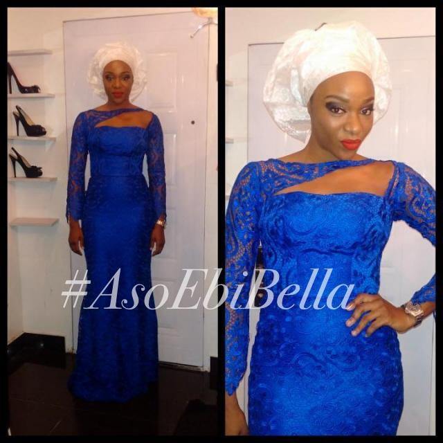 Großhandel Langarm Nixe Abschlussball Kleider Royal Blue Aso Ebi ...