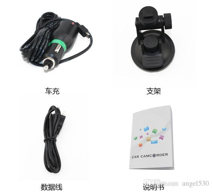 Car DVR Novatek 96650 Mini Camera Parking Camcorder Full HD 1080P Night Vision DVRs Carros 170 Degree Video Recorder Dash Cam