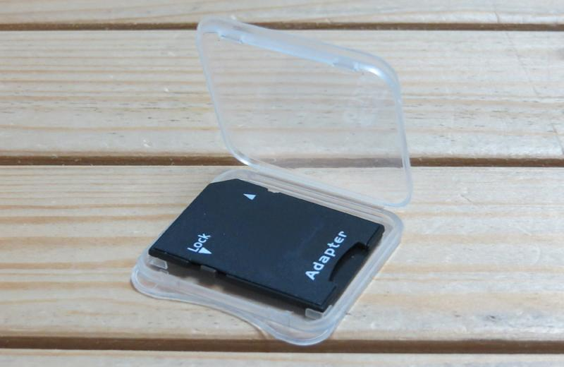 1000 stks / partij Hoge kwaliteit SD-kaart SDHC SDXC-geheugenkaart Bescherm Case Houder Plastic Doos Juweel Cases