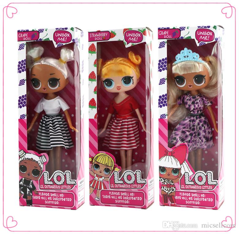 6 Styles LOL Surprise Dolls With Grape Strawberry