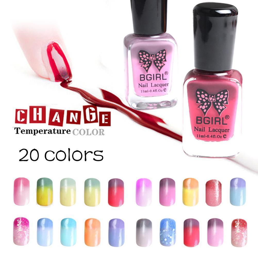 Wholesale- Magic Temperature Color Changing Gel Nail Polish 11ml ...