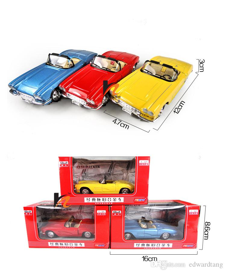 Alloy Bubble Car Model, Classic Car Toy, The Old Car Gifts, Beatle Car,Open Cars, Precision Super Simulation Vehicles Model, for Decoration