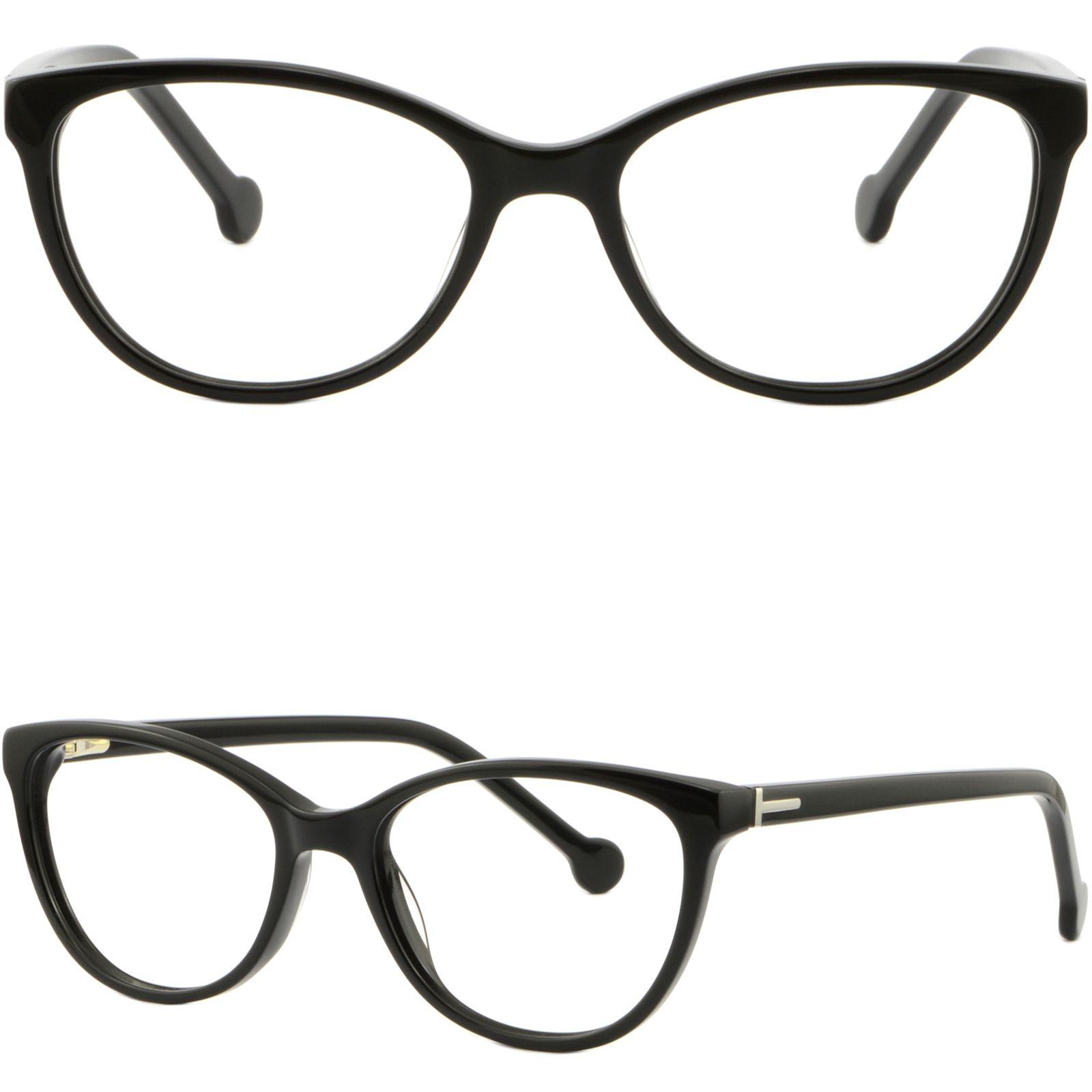 8c02ad7e515 Full Rim Women s Acetate Frames Light Plastic Glasses Shiny Black Spring  Hinges Glasses Frame Online with  41.09 Piece on Aceglasses s Store