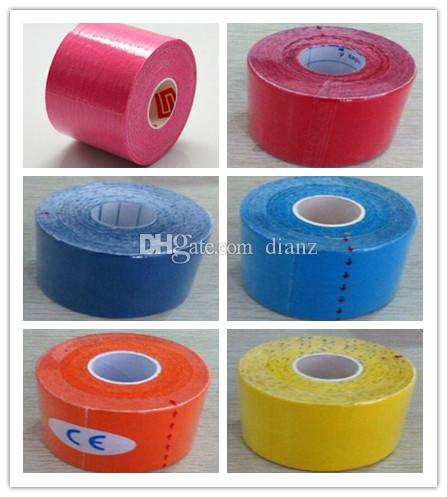 New Arrive 5cm x 5m NEW Kinesiology Kinesio Roll Cotton Elastic Adhesive Muscle Sports Tape Bandage Physio Strain Injury Support