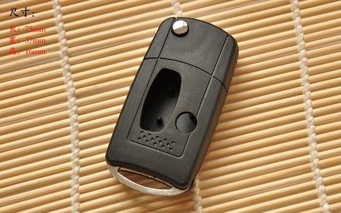 3button فارغة تعديل الوجه للطي قذيفة مفتاح بعيد لميتسوبيشي لانسر السابقين ، القضية الرئيسية لميتسوبيشي