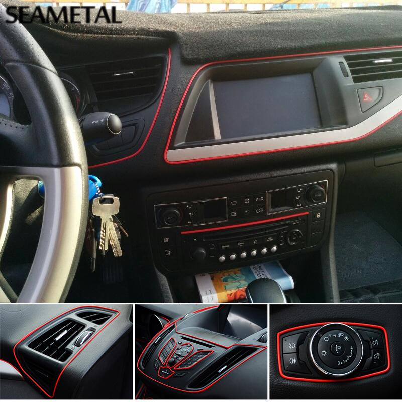 5m Universal Car Styling Flexible Interior Internal Decoration ...