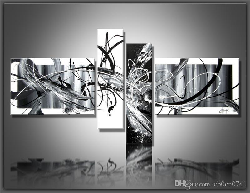 Best Multi Piece Combination Black White Wall Decor Pictures Wall ...