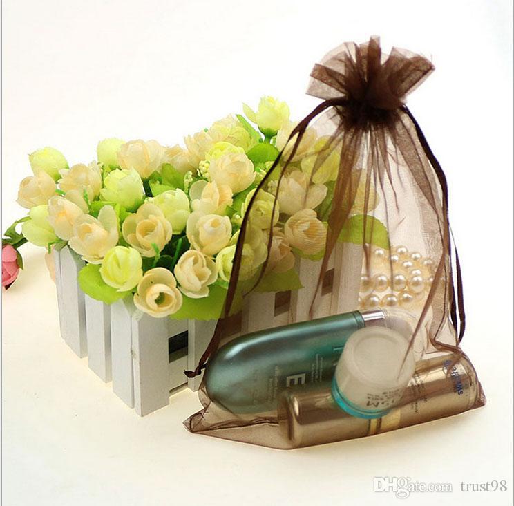 Bolsa de regalo con lazo de organza 12X17cm 4.75