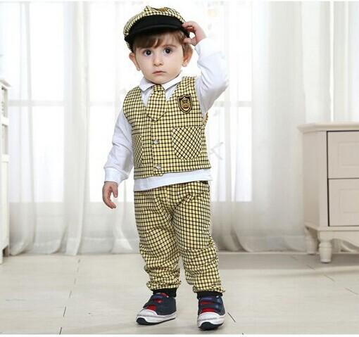 2017 Made In China 100% Cotton Autumn Handsome Baby Boy Outfits ...