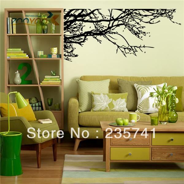 Wholesale Zooyoo Zy029 Removable Big Tree Wall Stickers For ...