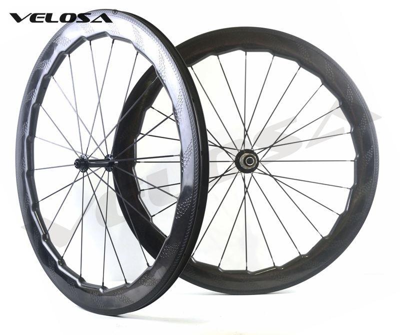 fb4b8dcf2 Velosa NSW 454 Bike Carbon Wheelset