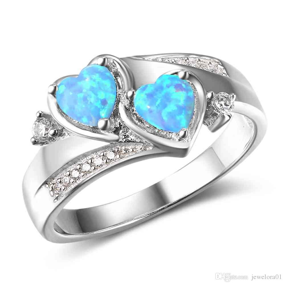 products with turquoise diamond and hawaii ring point mango wood wssw titanium rings blue set