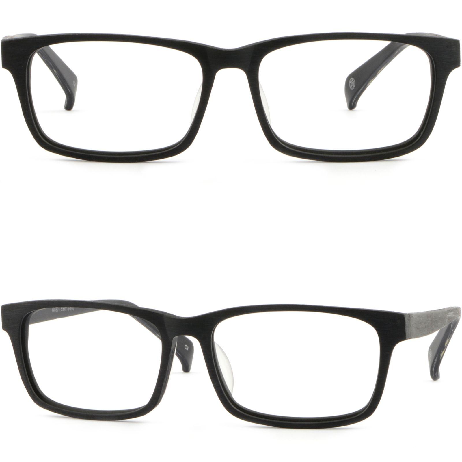 e02c0cfbdd Rectangular Men Women Wood Grain Brushed Acetate Plastic Frames RX Glasses  Black Buy Frames Designer Eyeglasses Frames From Aceglasses