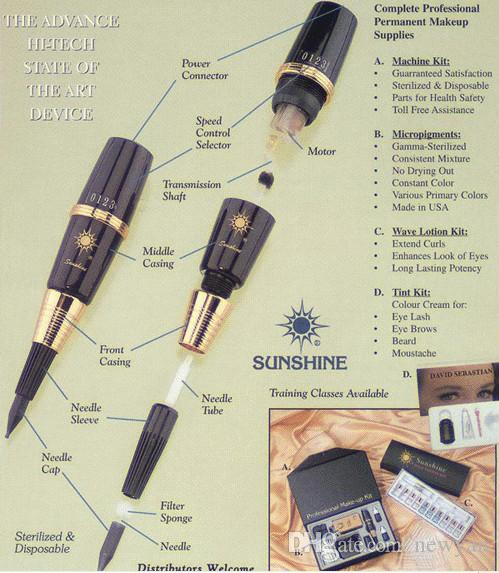 Sunshine Tattoo Machine accesories component needle tube