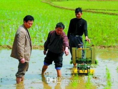 Manuel taşınabilir pirinç transplanter, el krank pirinç çeltik transplanter, manuel ekici, ekme makinesi