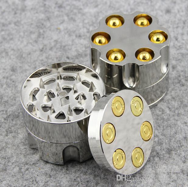 New Arrival New Metal Bullet Shape Tobacco Grinder Smoke Grinders Magnetic