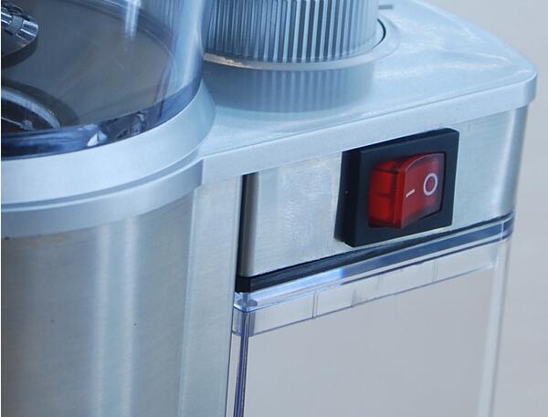 2015 Nyaste Ankomst- British Style Electric Coffee Grinder 220V Kaffeböna Mills 9 Speed Kaffekvarn