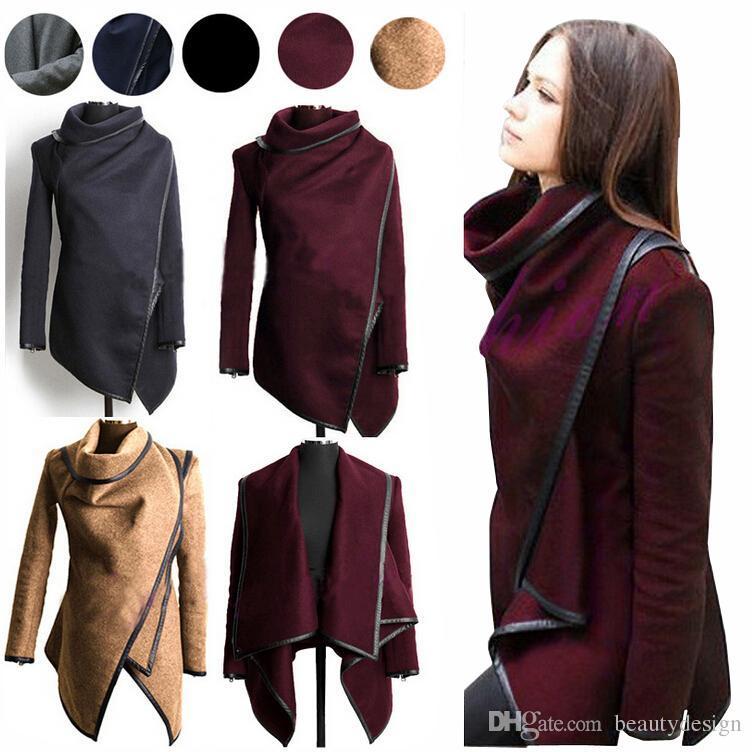 2016 Casacos De Inverno Mulheres Longo Cashmere Plus Size Mulher ...