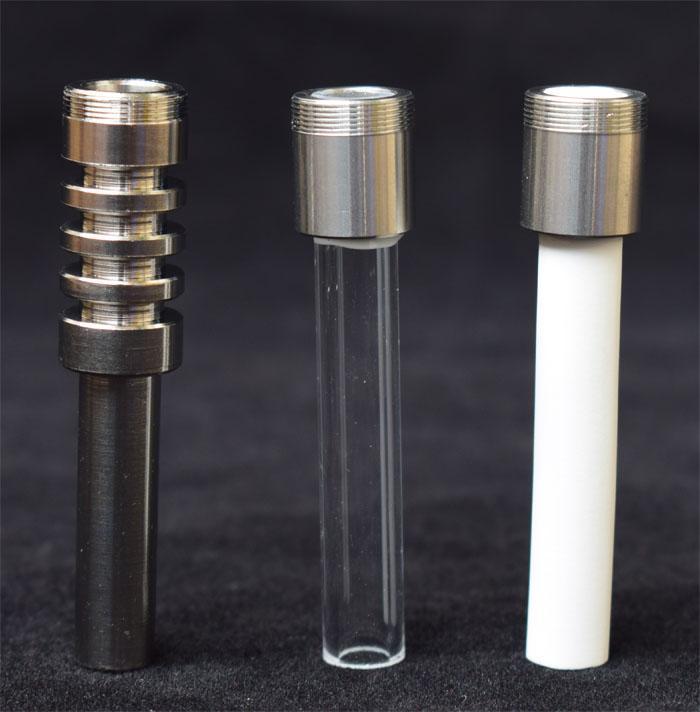 Nouveau fil de remplacement en céramique et titane Quartz Nail Tip pour kit Micro Titanium Gr2 v4 Quartz ongles