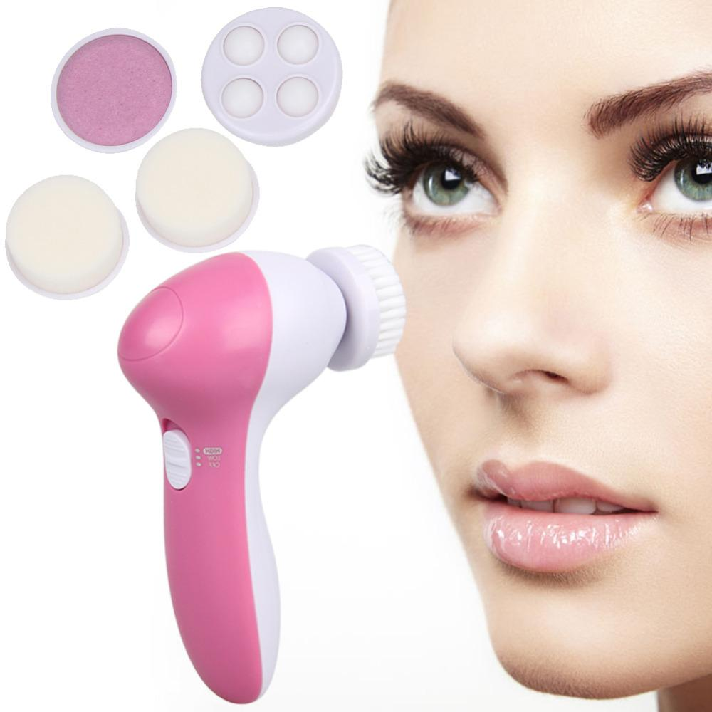 electronic facial cleansing brush