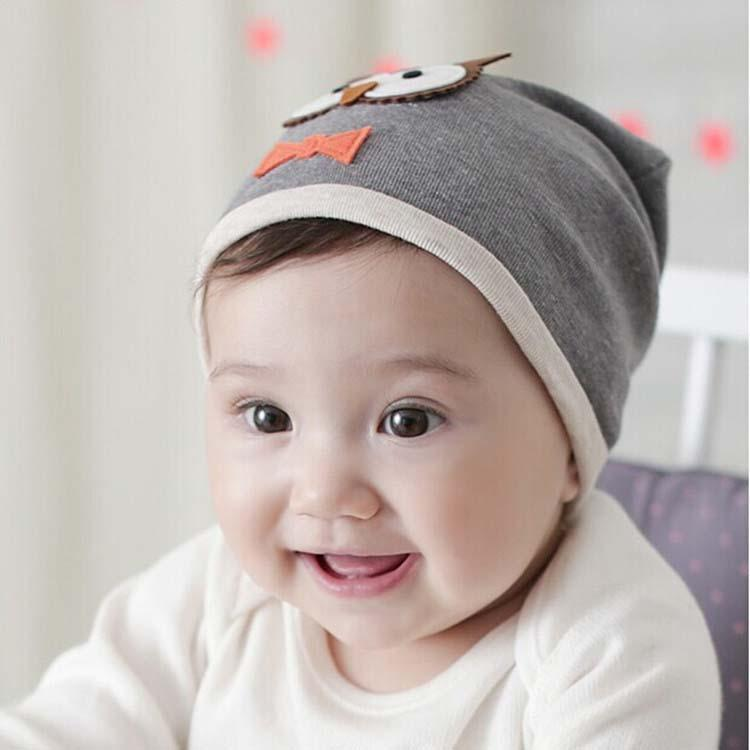9a559840632 2019 Owl Wool Cap Korean Boys Girls Beanie Hat Caps Baby Hat ...