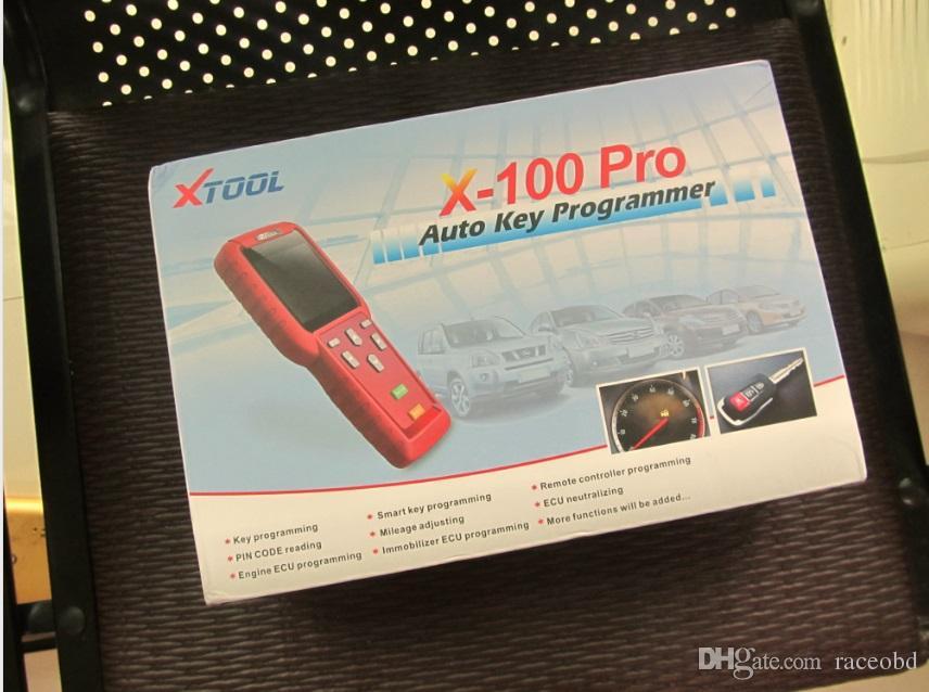 Programador chave auto programação x100 pro original xtool x-100 pro programador chave dhl frete grátis melhor qualidade