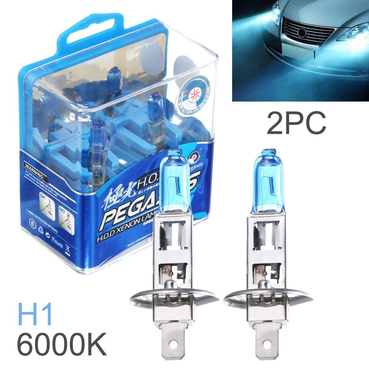 DHL Wholesale H1 100W White Light Super Bright Car HOD Xenon Halogen Lamp Auto Front Headlight Fog Bulb CLT_60X