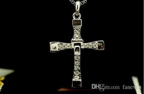 fast and furious 6 necklace Dominic Toretto cross unisex pendant necklace